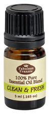 Clean & Fresh 5ml Pure Essential Oil Blend BUY 3 GET1 by Fabulous Frannie