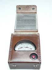 Blendux Vintage Cine Exposure Meter & Case (Gossen Ombrux In Germany) Circa 1933