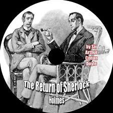 The Return of Sherlock Holmes-Arthur C Doyle, MP3 Audiobook 1 CD