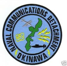 US NAVY BASE PATCH, NAVAL COMMUNICATIONS DETATCHMENT, OKINAWA                Y
