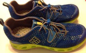 Columbia Techlite Running Sneakers Men's Size 6 Blue Lightweight Shoe Omni Grip
