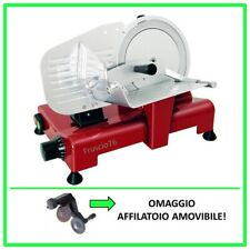Affettatrice Lusso 195 GL RGV Rossa - Omaggio Affilatoio - Pressamerce Alluminio