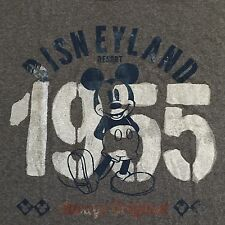 Disneyland Resort Mickey Mouse Always Original Adult T-Shirt New With Tags Large