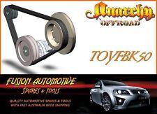 Fan Belt Kit for TOYOTA LANDCRUISER FJ73 FJ75 FJ80 FJ81 4.0L 6 CYL 3F 3FE TOY50