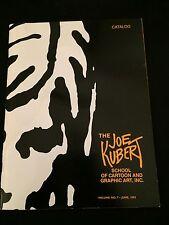 JOE KUBERT SCHOOL CATALOG Vol. 7 1993 VG+ Condition