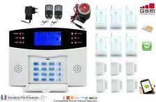 Kit Alarme de Maison téléphonique GSM SIM sans fil 6 zones evolutif -> 99 zone