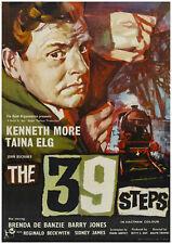 THE 39 STEPS Movie Cinema Poster Film Art Print