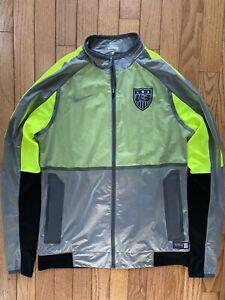 Women's Nike Authentic World USA Soccer Training Sideline Track Jacket Small New