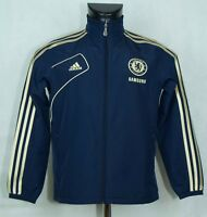 BOYS CHELSEA ZIP TRACK JACKET  LONG SLEEVE ADIDAS SIZE 11-12 YEARS EXCL