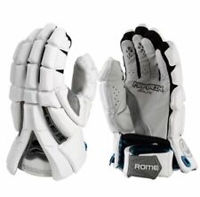 New Maverik Rome Lacrosse Gloves - Size Large 13' - White