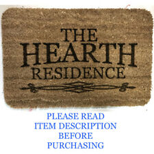 Personalised door mat Rug 40cm x 60cm Real Coir Any Design Any Font