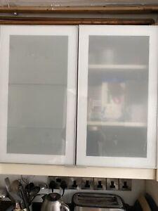 3 Ikea Rubrik Glass Doors