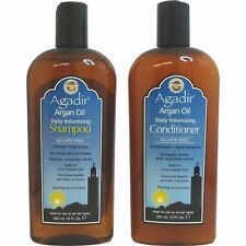 AGADIR MOROCCAN ARGAN OIL Daily Volumizing SHAMPOO & CONDITIONER 355ml DUO