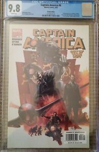 CAPTAIN AMERICA 6 CGC 9.8 VARIANT 1ST APPEARANCE OF THE WINTER SOLDIER  🔥