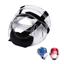 Clear Plastic Face Shield Head Shield Removable Helmet Mask Protective Gear Bh