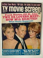 TV and Movie Screen Magazine Frank Sinatra, jill st. john, mia, connie,SEPT1967