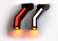2x LED Neon Umrissleuchten  Positionsleuchte LKW Begrenzungsleuchten 24V 12V