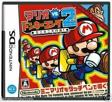 Used DS Mario vs. Donkey Kong 2 NINTENDO JAPANESE IMPORT