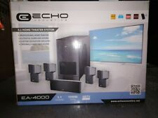 *Echo Acoustics 5.1 Home Theater System Ea-4000 New In Box