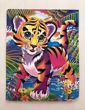 Rare Vintage 1990's Lisa Frank Folder Tiger Forrest