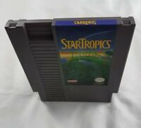 STAR TROPICS NES NINTENDO GAME CART RPG