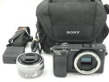 Sony Alpha A6400 24.2 MP Digital Camera with SELP 16-50mm Lens - Black