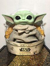 Mattel Star Wars The Mandalorian The Child Baby Yoda 11-Inch Plush Figure