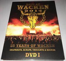 Live at Wacken 2014 DVD I rock metal HATEBREED ACCEPT MOTORHEAD KREATOR SAXON