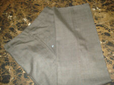 Mens Rusty Polyester Blend Dress Flat Front Pants Size 34X32