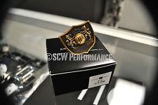 Authentic Junction Produce VIP Mini Fusa Kiku Emblem Shield Golden JDM