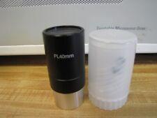 "1.25"" 40mm Plossl Telescope Eyepiece Coated Lenses Filter Threads Plastic Case"