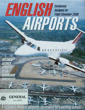English Airports Exclusively designed for Flight Simulator 2000 PC CD ROM