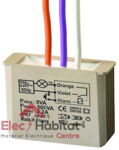 Télérupteur temporisé encastré 500W MTR500e Yokis 5454050
