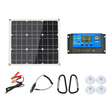 200W 200Watt Solar Solaranlage Solarpanel Inselanlage Garten Camping Solarmodul