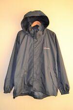 Berghaus Men's Windbreaker Rain Coat Nylon Jacket Gray Size XL