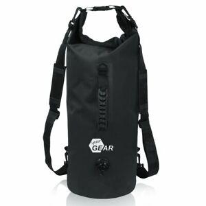 yourGEAR Dry Bag 30 L wasserdichter Rucksack Seesack Schultergurten Griff Ventil