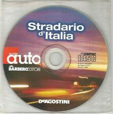 STRADARIO D'ITALIA  DE AGOSTINI MULTIMEDIA CD ROM 2000