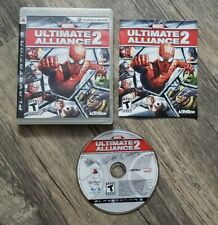 Marvel: Ultimate Alliance 2 (PlayStation 3, 2009) Complete PS3 Game CIB