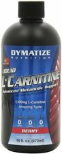 Dymatize Liquid L-Carnitine 1100 (Berry) 16oz Metabolic Support