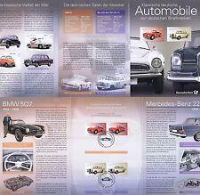BRD 2015: BMW und Mercedes! Erinnerungsblatt mit Paaren der Nr. 3143+3144! 1704