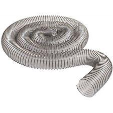 "Vacuum & Dust Collector Accessories 4"" 10' Ultra-Flex Clear Vue PVC Hose MADE IN"