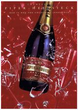 PIPER HEIDSIECK Champagne Brut - Celebration advertisement A4 size HQ print