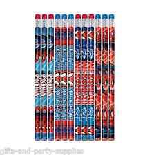 Marvel Ultimate SPIDER MAN Pencils Birthday Party Favor Supplies SPIDERMAN ~ 12