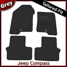 Jeep Compass 2006 onwards Tailored Fitted Carpet Car Floor Mats GREY