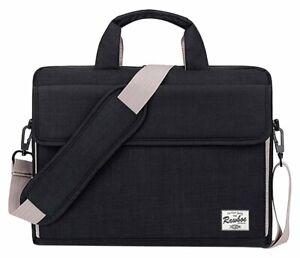 Laptop Macbook Carry Messenger Bag Rawboe 13 - 15.6 inch bag Black