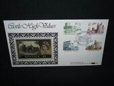 GB first day cover 1988 castles with Windsor cancel on benham silk cover D90