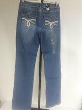 NWT Womens' Earl Denim Embellished Free-to-be Bootcut Jeans Sizes 8