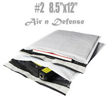 200 #2 8.5x12 Poly Bubble Padded Envelopes Mailers Shipping Bags AirnDefense