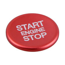 Red Engine Start Stop Button Cover Switch Knob Ring for Alfa Romeo Giulia 2017