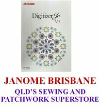 JANOME DIGITIZER JR EMBROIDERY MACHINE SOFTWARE V5